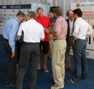 """Ken Read, captain of """"Puma,"""" was there in Miami when we visited the Volvo Ocean Race."""