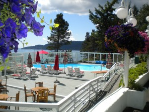 Rosario Resort on Orcas Island is a beautiful place with a historic hotel and full-service marina.