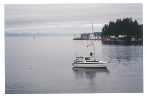 "Leaving Port Hardy in ""Murrelet."""