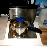 preasure cooker on wallas marine<br />cooker.