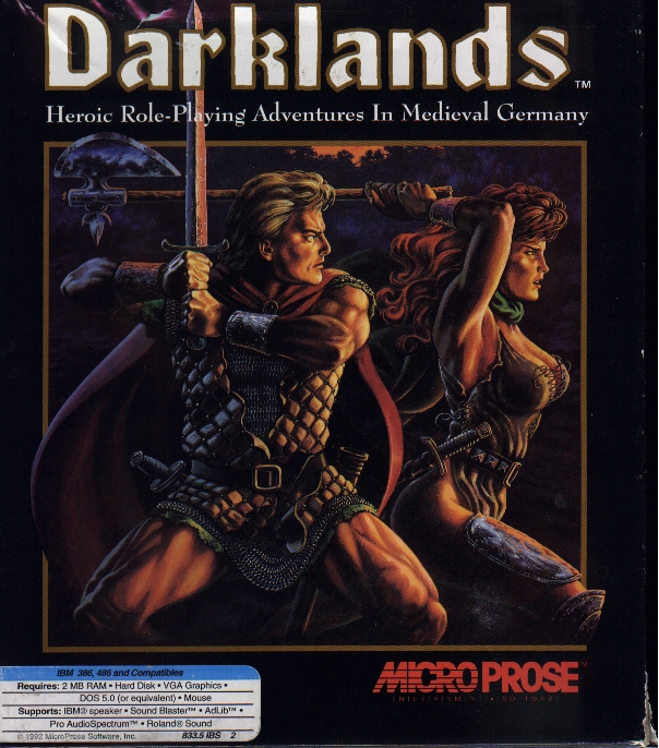 The DARKLANDS Domain, main page
