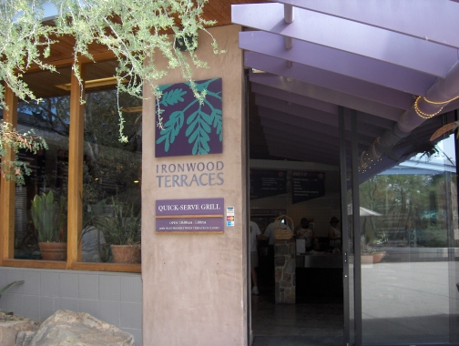 Ironwood Terraces is open for lunch