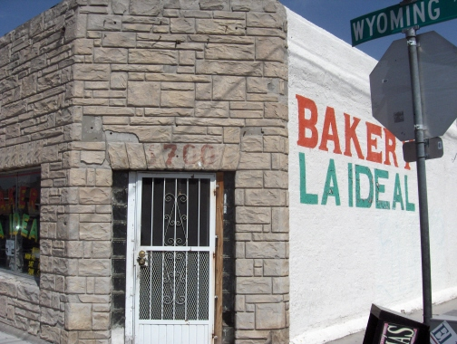 La Ideal Bakery at the corner of Dallas and Wyoming