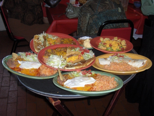 A variety of La Posta's offerings