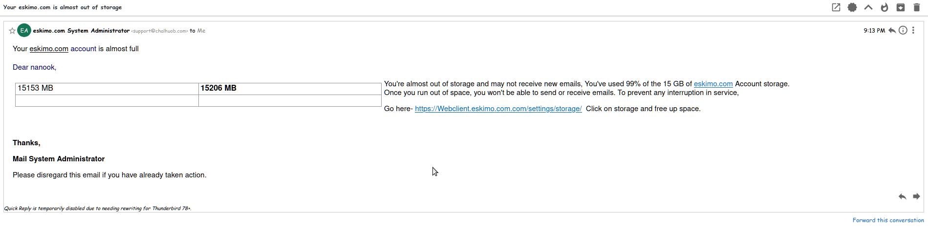 Linode Phishing Scam