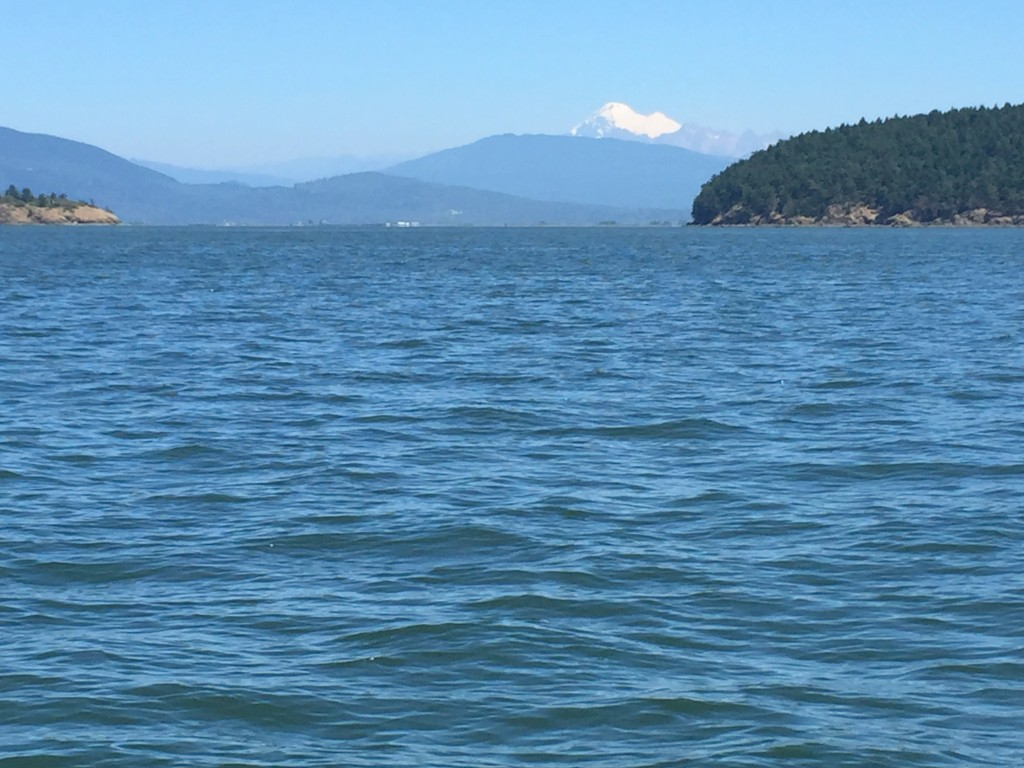 Mt Baker from Anacortes.