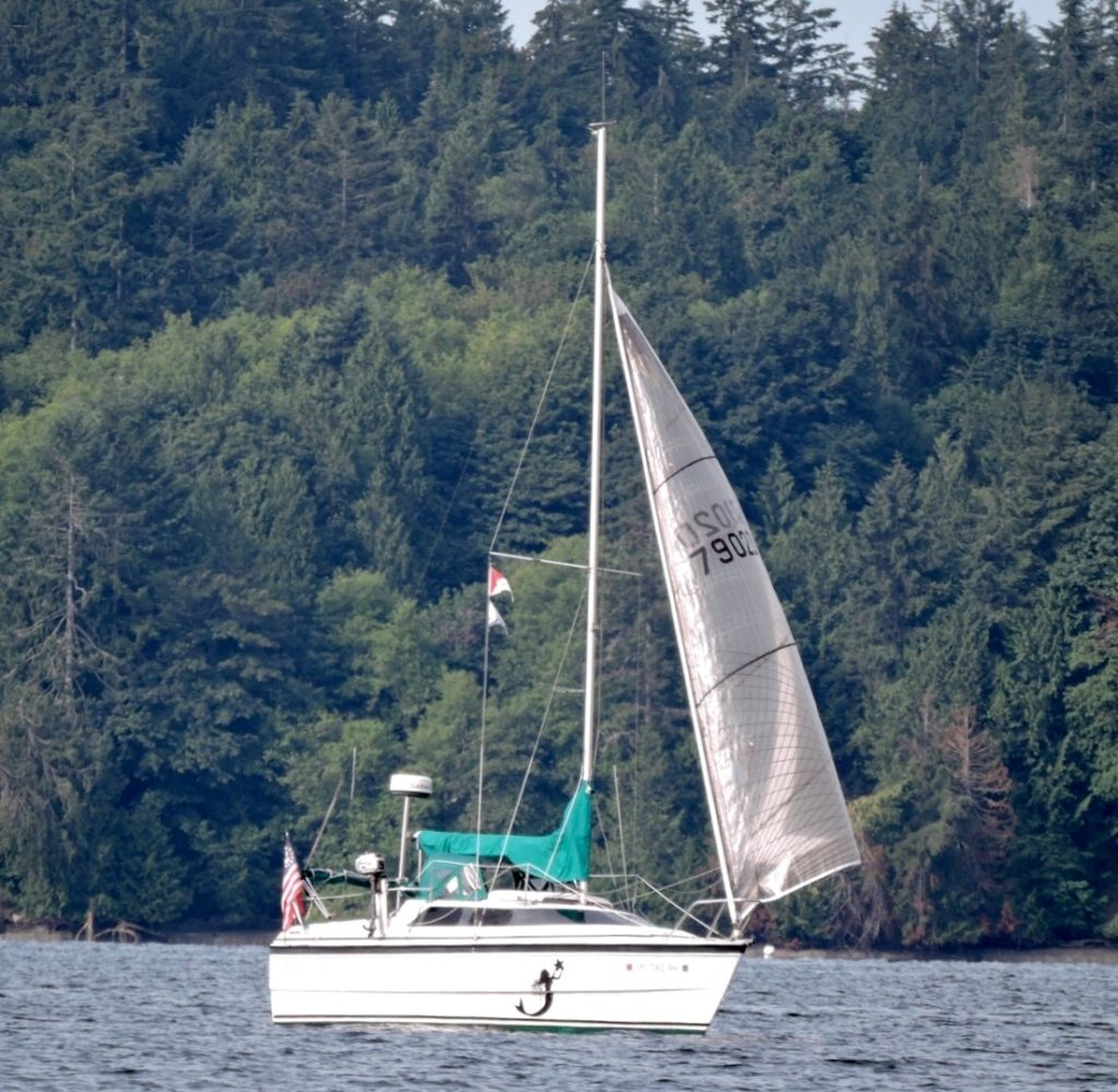 Joemma is a forested state park that offers good sailing, crabbing, and fishing. There is an interesting walk up the beach toward a kid's camp.