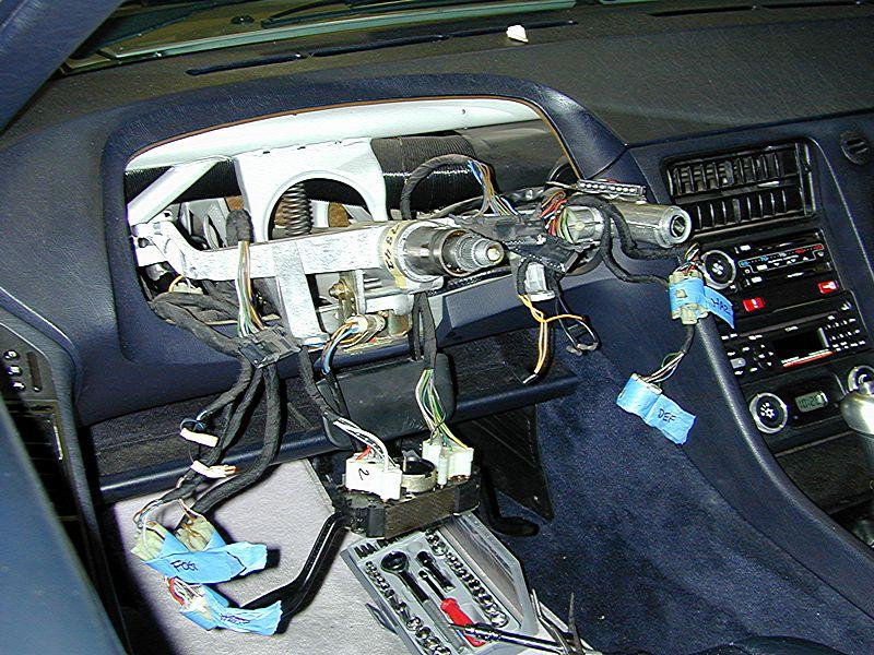 Dave U0026 39 S 928 S4 Instrument Pod Removal